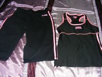 Lonsdale Exercise Shorts & Top Set Size 8 Only Worn Once.