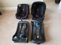 Twins Joie Baby Car Seat and Base