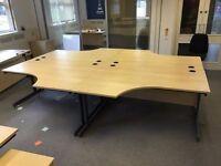 office curve desks x30