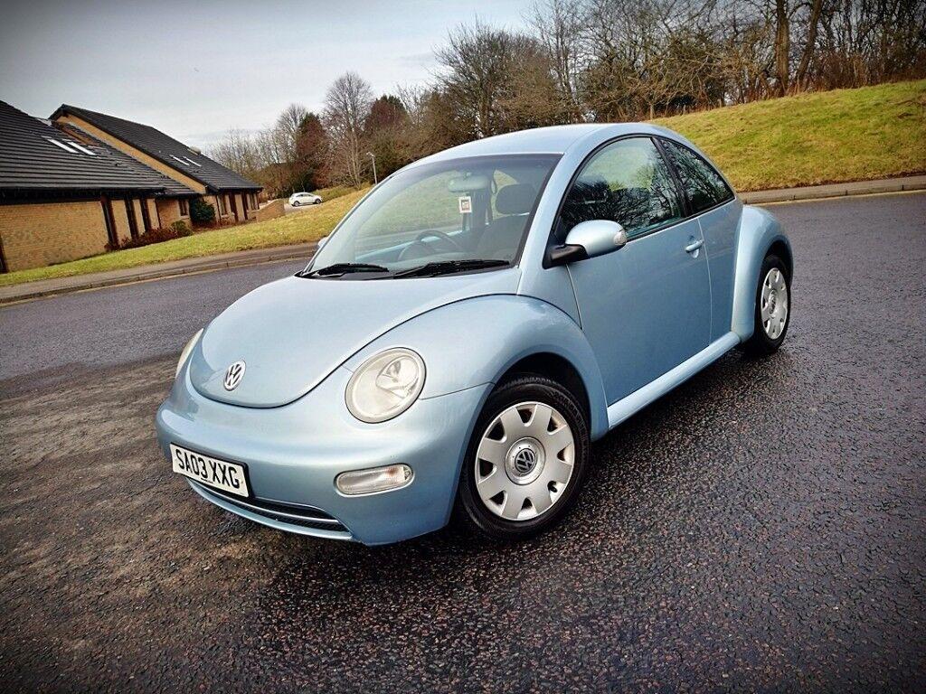 VW 2003 vw bug : 2003 VW BEETLE...1.6 PETROL...3 OWNERS...LONG MOT(NO ADVISORY ...