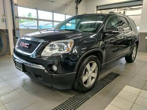 2012 GMC Acadia SLT AWD - DVD - 8 seater - Leather - Sunroof