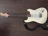 Fender Stratocaster - Electric Guitar - MIM SSS - 2003 - Cream