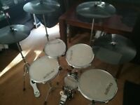 Practice pad drum kit