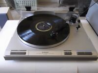 Pioneer PL-340 semi-automatic 2-speed stereo turntable - new belt fitted