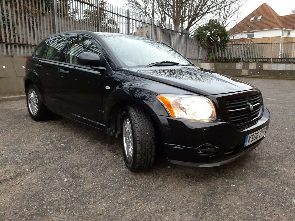 dodge caliber 2006 black