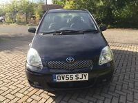 TOYOTA YARIS 1.3 PETROL ONLY 1 FORMER KEEPER WITH FULL SERVICE HISTORY ,3 KEYS
