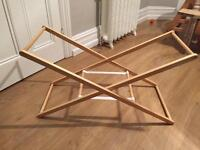 Mothercare Moses basket wooden stand