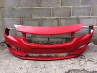 Vauxhall Astra K 2016 2017 genuine red front bumper for sale