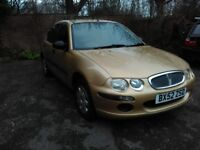 Rover 25 - 1.6 Auto 29,209 miles FSH 1 previous Owner 52 Reg Cambelt Water pump
