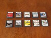 10 Nintendo DS games bundle