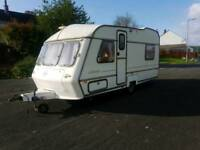 abi award globestar 4 berth with end bedroom ,with shower and bathroom