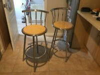 4 Bar Kitchen Stools good condition £20