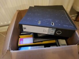 FREE! Ring binders & Lever Arch Folders