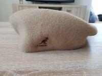 Kangol Headwear Wool 504 Flat Cap (Biege/Camel)