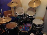 Full sized drum kit for sale (Session Pro)