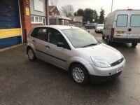 2003 Ford Fiesta 1.4 5 door 12 months mot/3 months parts and labour warranty