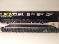 Behringer UMC 1820 24-Bit/96Khz USB 2.0 Audio / MIDI Interface