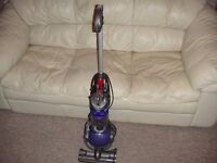 Dyson DC24 Lightweight Fully Serviced for All-Floors and Pet Use, NEW HEAD FITTED