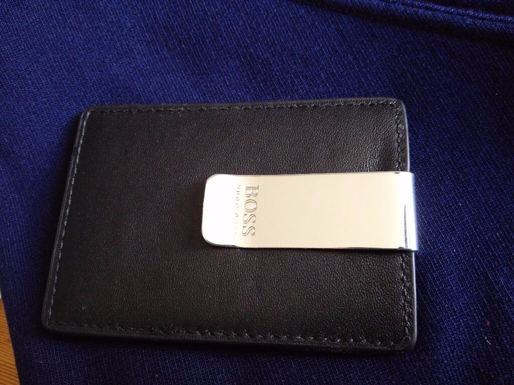 Hugo boss money clip card holder new | in Whitwick, Leicestershire ...