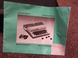 Brother Super 7300 electric typewriter