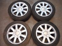 """AUDI RS4 STYLE 16"""" ALLOY WHEELS 5 x 112 ( our ref 076 )"""