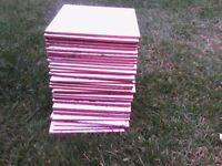 37 white, interior, wall tiles 15 cm x 15 cm excellent condition. Unused. Collect from LN2