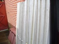 new 5ft concrete fencing posts