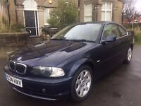 BMW 323i SE Coupe Automatic - 12 months MOT and FULL service history