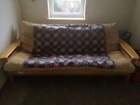 Wooden futon double