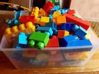 Large Megablocks lego bundle