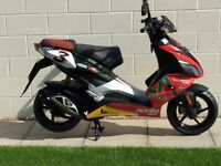 2012 Aprilia SR50R EXCELLENT FLAWLESS CONDITION Only 3400 miles Comes with full mot ABSOLUTE BARGAIN