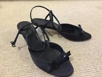 Size 4.5 Hobbs kitten heel sandals