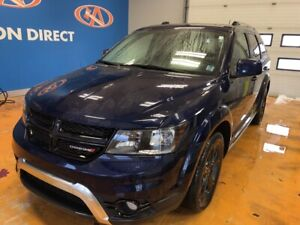 2018 Dodge Journey Crossroad AWD/ 7 PASS/ TV-DVD/ LEATHER