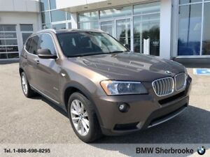2013 BMW X3 Xdrive35i *TOIT OUVRANT PANORAMIQUE*
