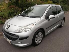 Peugeot 207 1.4 VTi S [95] 3dr [AC] (silver) 2009
