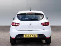Renault Clio DYNAMIQUE MEDIANAV (white) 2014-09-30