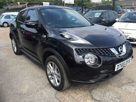 Nissan Juke 1.6 N-Connecta XTRONIC CVT 5dr. FREE 1 YEAR WARRANTY,HPI CLEAR