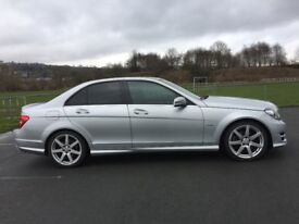 Mercedes Benz C220 CDI BlueEfficiency AMG