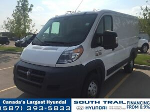 2016 Ram ProMaster Cargo Van - LOW KM, ONE OWNER
