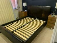 Free Leather King Size Bed frame