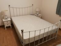 Stylish Double Bed, Mattress Included