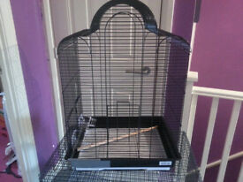 BIRD CAGE-SMALL CRACK !!BRAND NEW!!