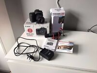 MINT Canon EOS 80D 24.2MP With EF-S 18-55mm Lens + Rode Mic + 3 Year Insurance