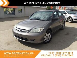 2004 Honda Civic DX-G GREAT FOR COMMUTER VEHICLE!