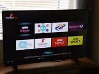 """43"""" ULTRA HD 4K SMART LED TV, NETFLIX, YOUTUBE, FREEVIEW PLAY ETC **SEE DESCRIPTION**"""