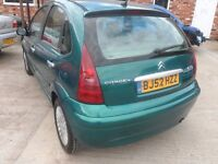 CITROEN C3 BREAKING FOR ALL PARTS 2002