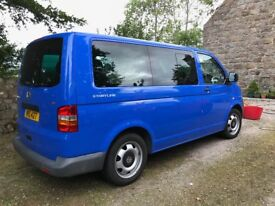 2009 VW Caravelle 7 seats. 1 Owner and domestic use only. Last of the 5 cylinder Euro 4 Models