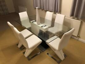 Executive table and 6 chairs