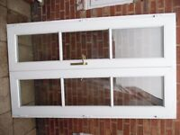 upvc french doors with key £135