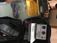 Elec test equipment